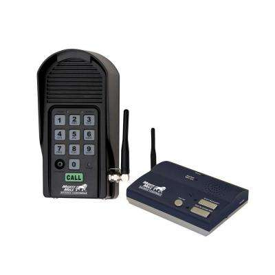 Wireless Intercom Keypad and Base Station Kit for Mighty Mule Gate Openers