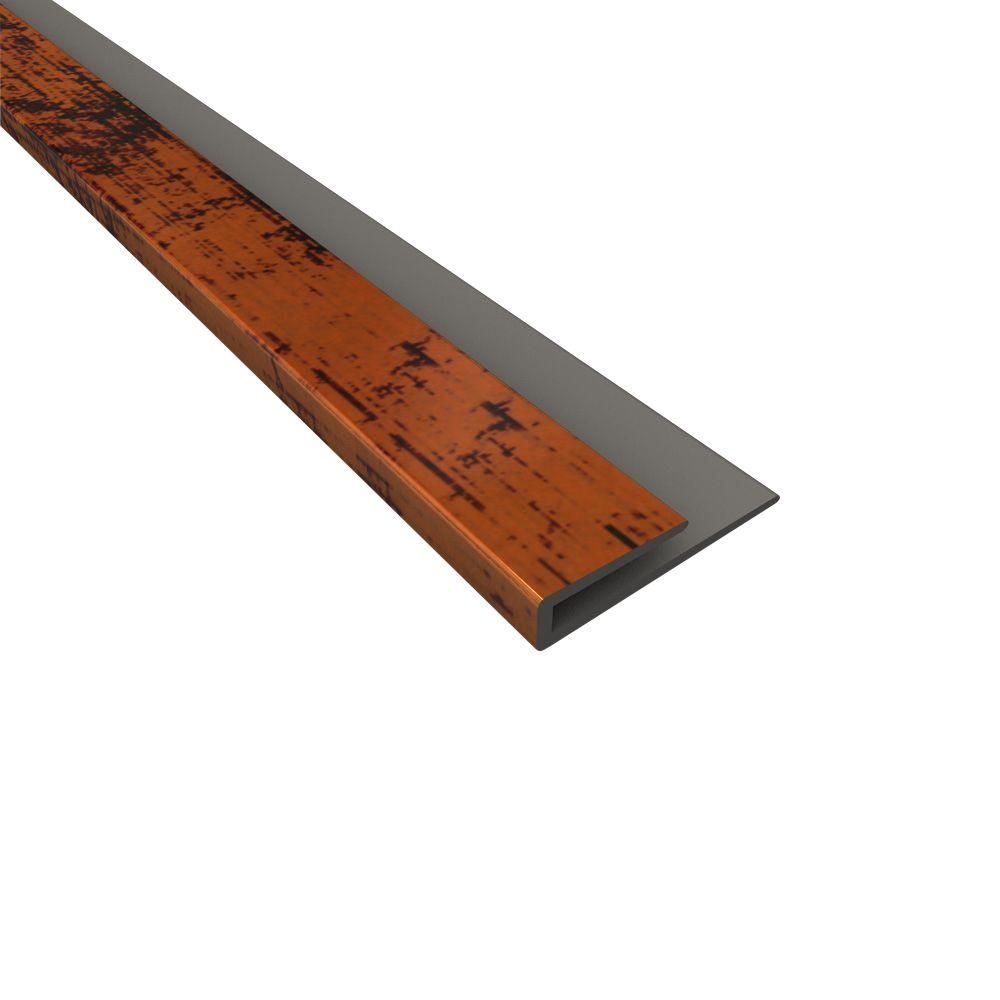 Fasade 4 ft. Moonstone Copper Large Profile J-Trim