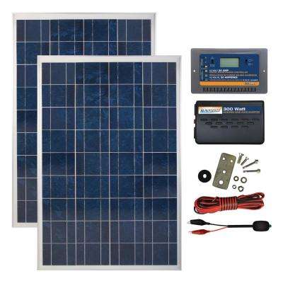 200-Watt Polycrystalline Solar Panel Kit