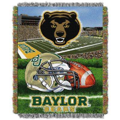 HFA Tapestry Baylor Multi Color Throw
