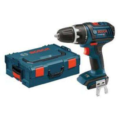 18 Volt Lithium-Ion Cordless 1/2 in. Hammer Drill/Driver Kit with Case and Exact-Fit Insert Tray (Tool-Only)