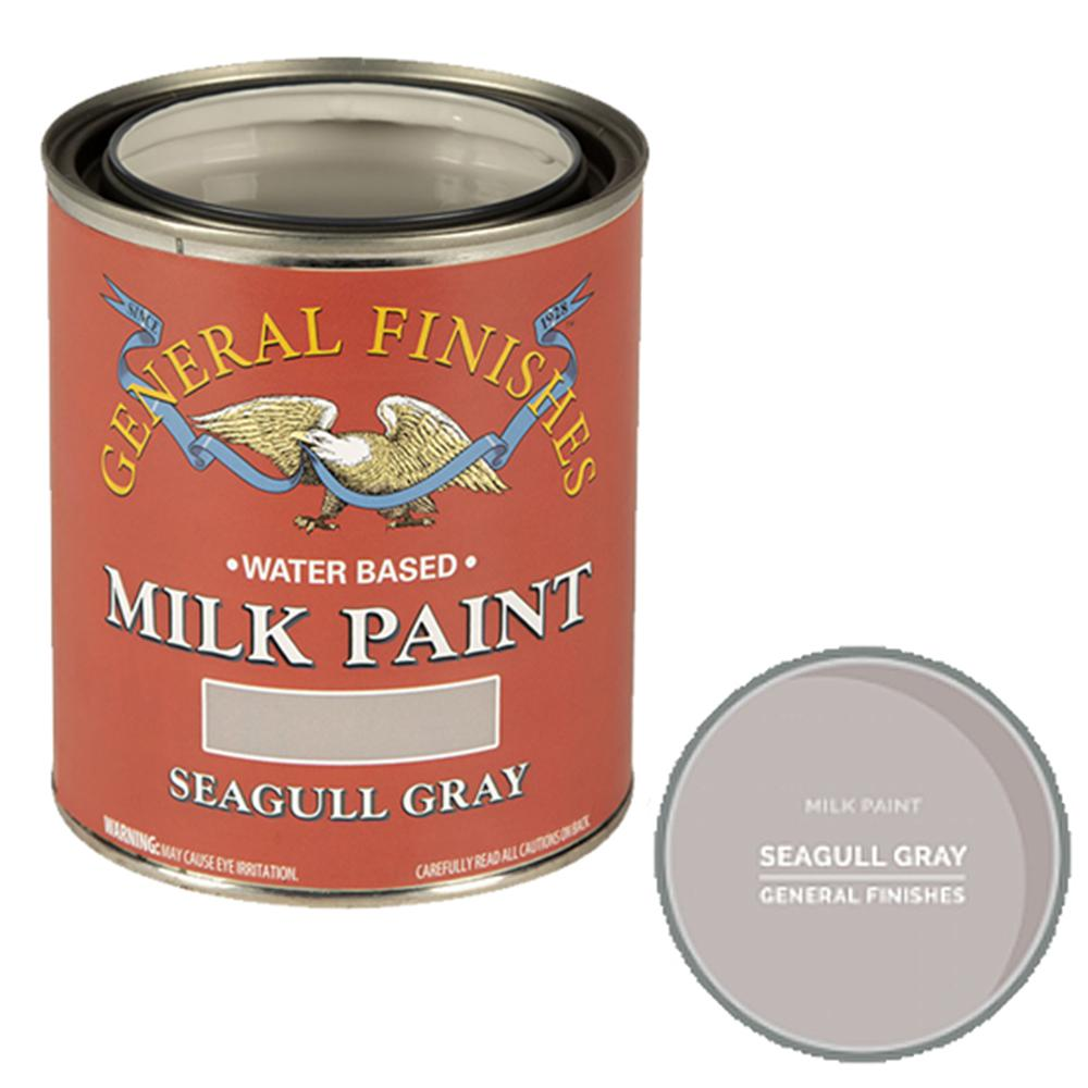 General Finishes 1 gal. Seagull Gray Interior/Exterior Milk Paint