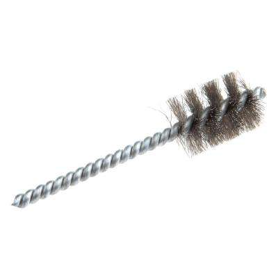 4 in. x 3/4 in. Stainless-Steel Power Tube Brush
