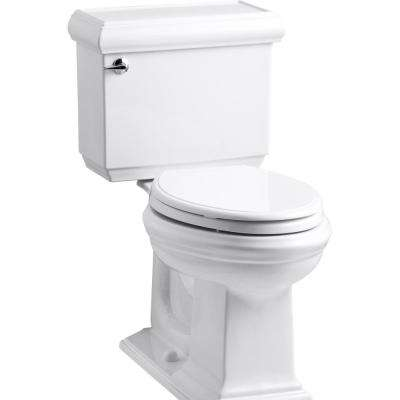 Memoirs Classic 2-Piece 1.28 GPF Single Flush Elongated Toilet with AquaPiston Flush Technology in White