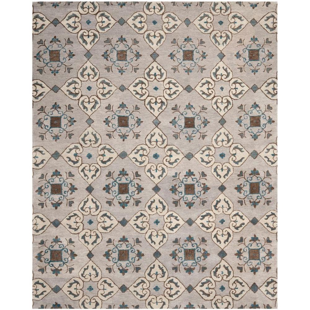 Wyndham Beige/Multi 8 ft. x 10 ft. Area Rug