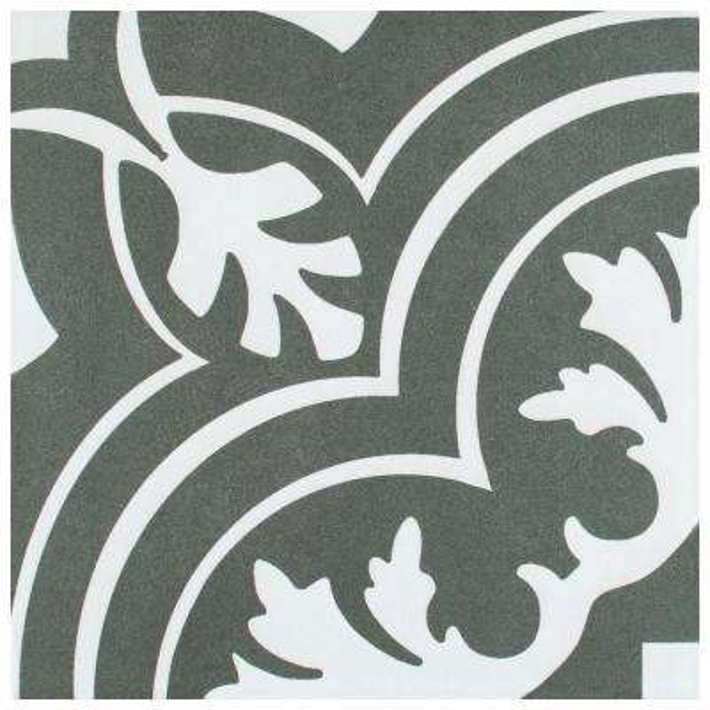 Twenties Classic Encaustic 7-3/4 in. x 7-3/4 in. Ceramic Floor and Wall Tile (42 cases / 466.62 sq. ft. / pallet)