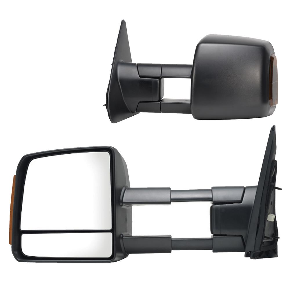 Towsmart Heavy Duty Clip On Towing Mirror 1202 The Home Depot 2006 Subaru Outback Wiring For 07 18 Toyota Tundra 08 Sequoia With Signal And