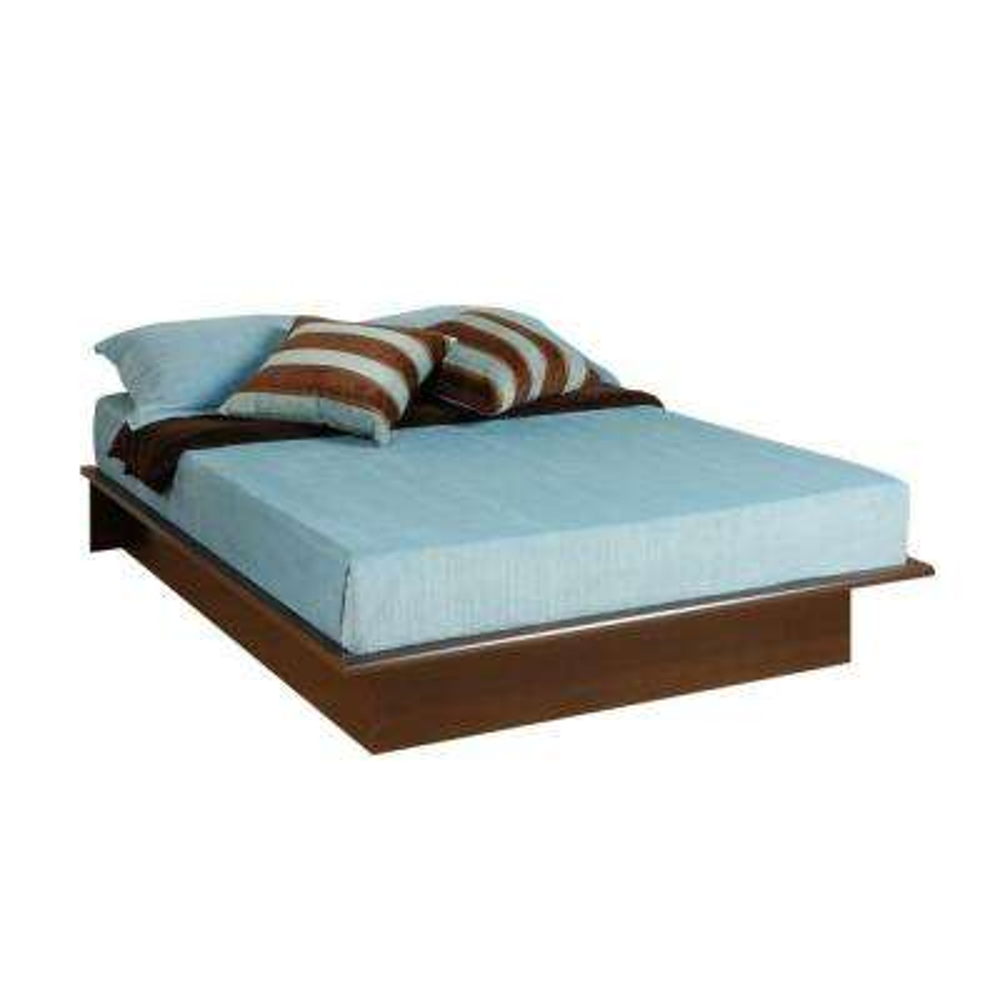 Queen Wood Platform Bed