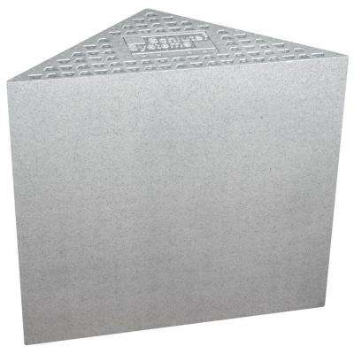 Kerdi-Shower-SB 16 in. x 16 in. x 20 in. Triangle Bench