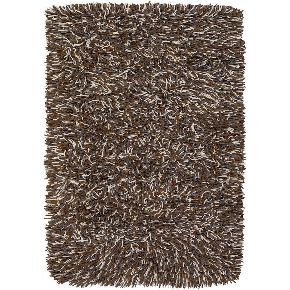 Chandra Big Jos Brown/Grey/Ivory 7 ft. 9 in. x 10 ft. 6 in. Indoor Area Rug