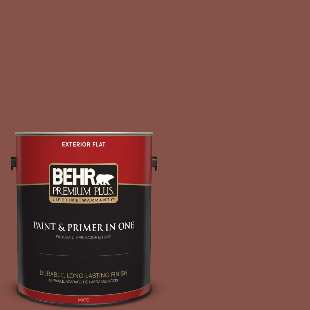 1 gal. #PPU2-18 Spice Flat Exterior Paint