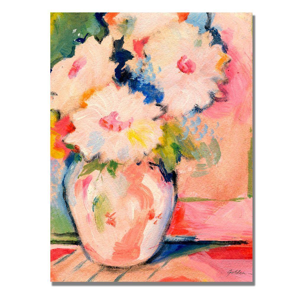 Trademark Fine Art 18 in. x 24 in. Henri's Bouquet Canvas Art