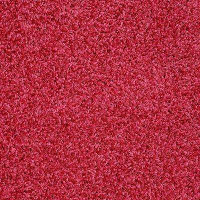 Carpet Sample - Whimsical - In Color Electric Pink 8 in. x 8 in.