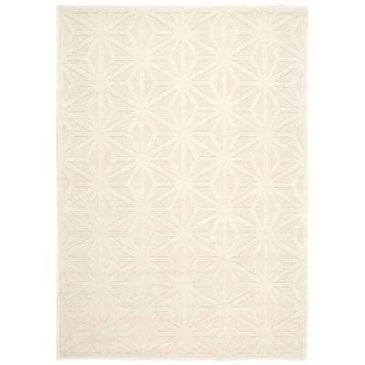 Ultima Silver/Ivory 5 ft. x 7 ft. Area Rug