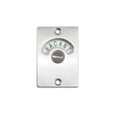 Bathroom Indicator Stainless Steel Latch