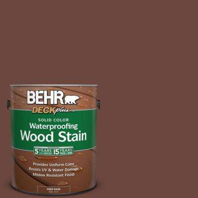 1 gal. #PPU3-19 Moroccan Henna Solid Color Waterproofing Wood Stain