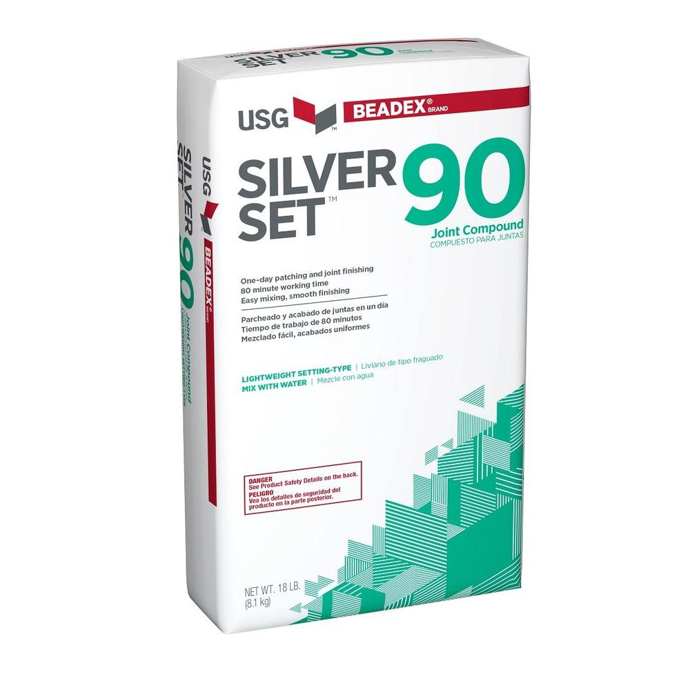18 lb. Silver Set 90 Setting-Type Joint Compound