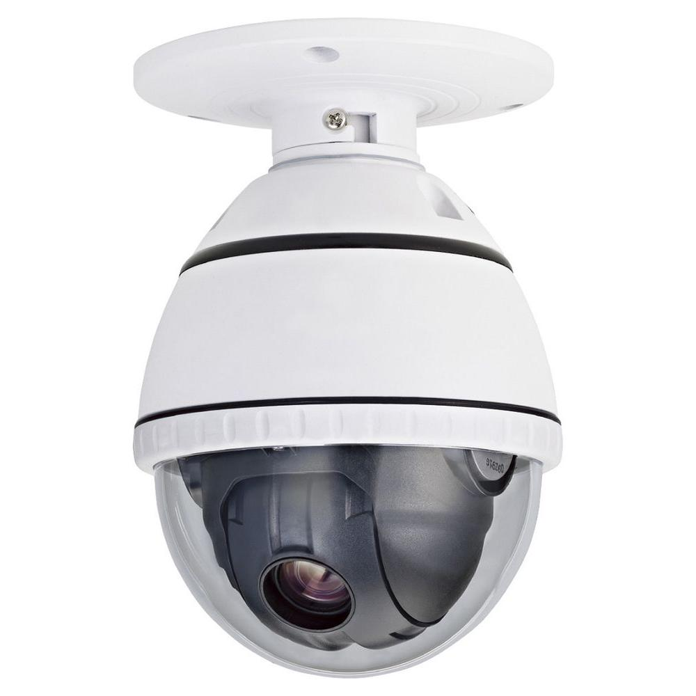 Wired 540TVL PTZ Indoor CCD Dome Surveillance Camera with...