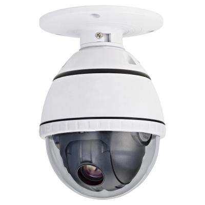 Wired 540TVL PTZ Indoor CCD Dome Surveillance Camera with 12X Optical Zoom