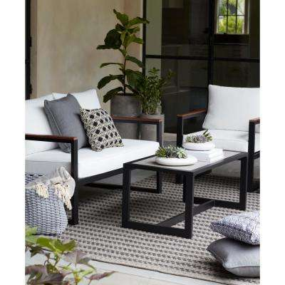 West Park Aluminum Outdoor Coffee Table
