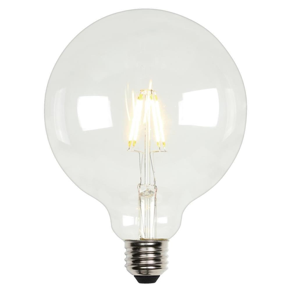 Westinghouse 60w Equivalent Soft White G40 Dimmable Filament Led Light Bulb 3317500 The Home Depot