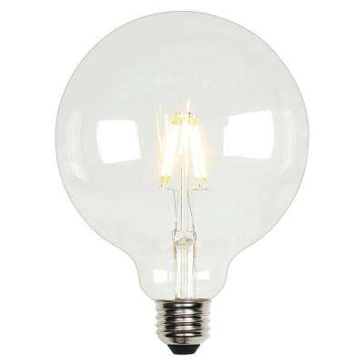 60W Equivalent Soft White G40 Dimmable Filament LED Light Bulb