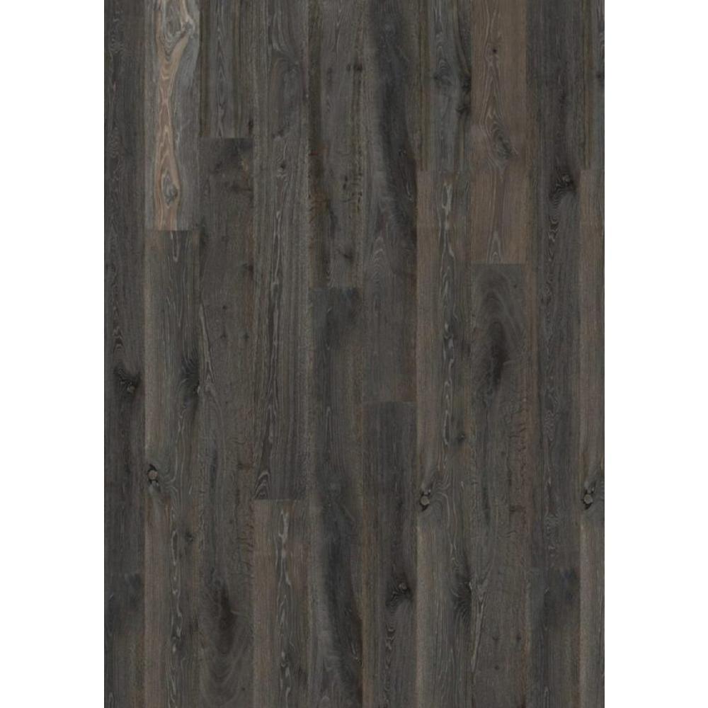 Flooors by LTL Take Home Sample - Logan Oak Engineered Hardwood Flooring - 7-15/32 in. x 8 in.