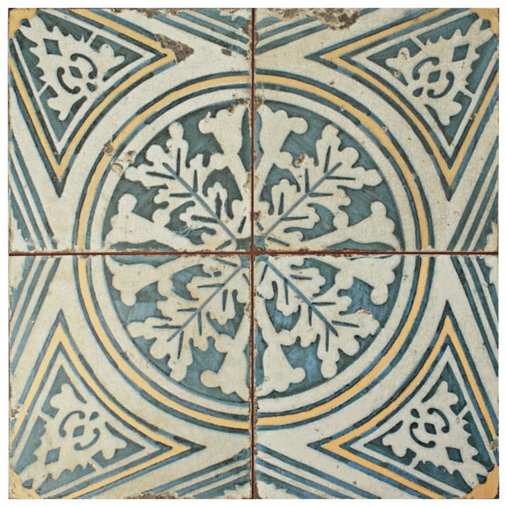 Kings Flatlands 17-3/4 in. x 17-3/4 in. Ceramic Floor and Wall Tile (11.3 sq. ft. / case)