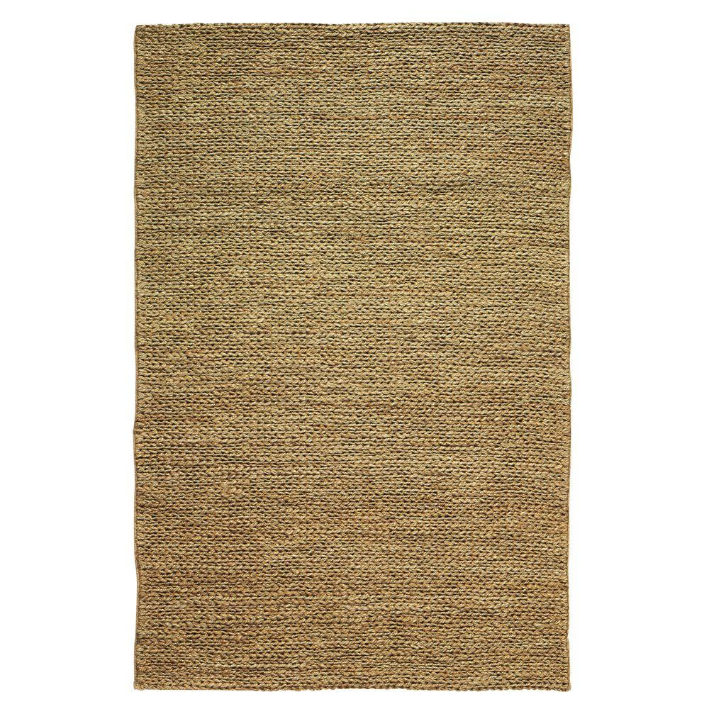 Home Decorators Collection Chainstitch Dark Natural 3 ft. x 8 ft. Runner