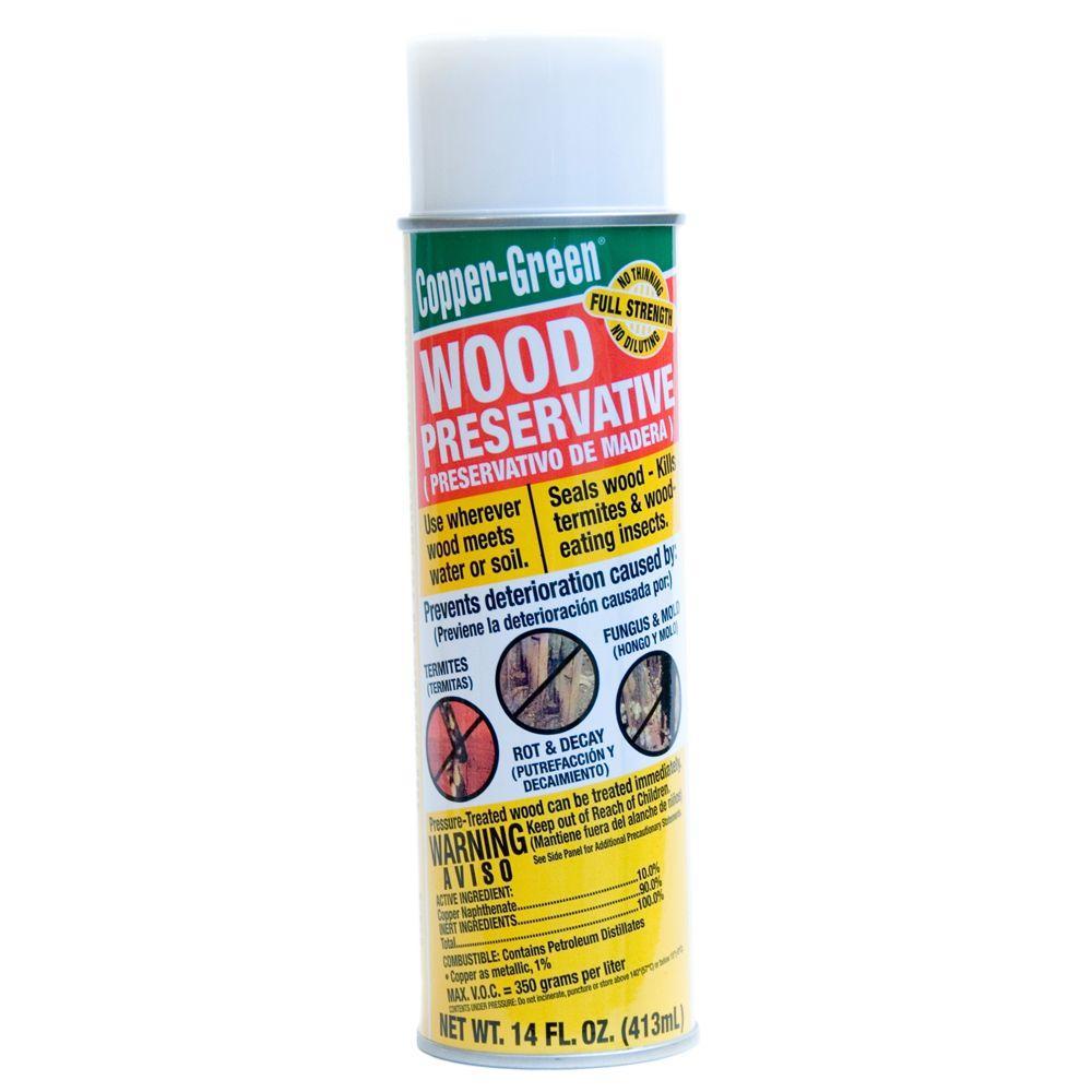 Copper-Green Wood Preservative 14 fl.oz. Aerosol-CopperSpr - The ...