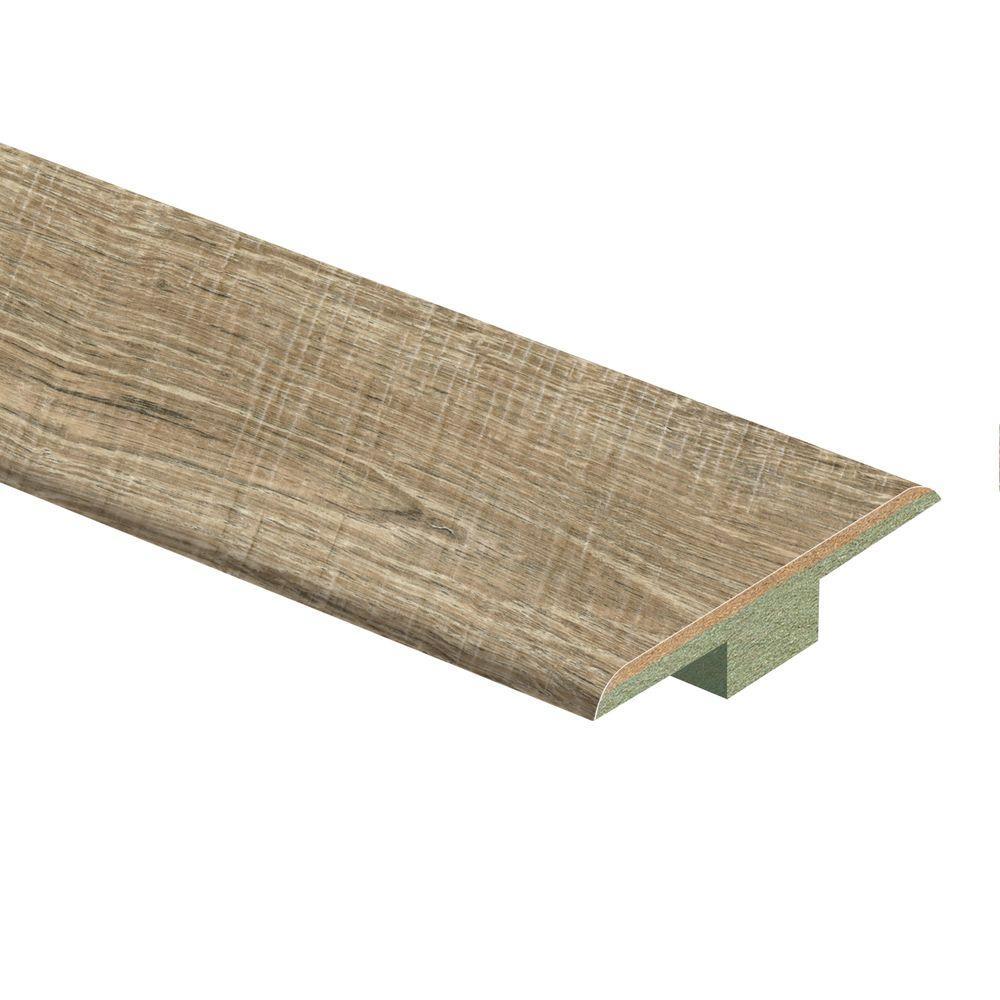 Esperanza Oak 7/16 in. Thick x 1-3/4 in. Wide x 72 in. Length Laminate T-Molding