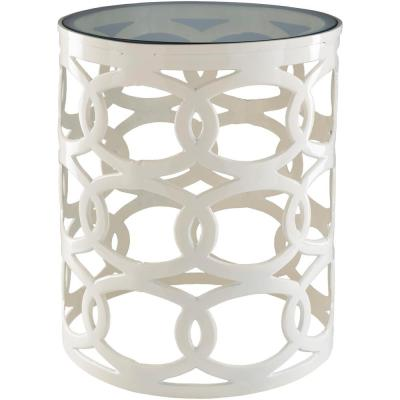 Awore Stool in Ivory