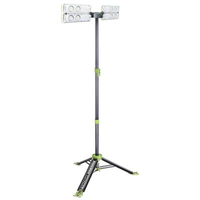 Voyager 6,000 Lumen Collapsible Weatherproof LED Work Light with Remote Control, Anchors, Strap and Four Modes