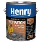 Henry 208R Rubberized Wet Patch Roof Cement Leak Repair – 0.90 Gallon