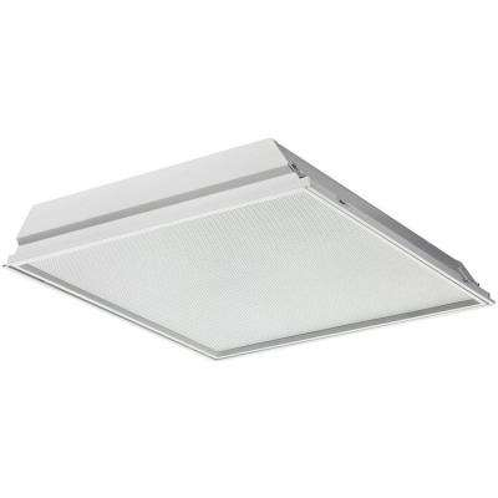 GTLED2 38 -Watt Matte White Integrated LED Troffer