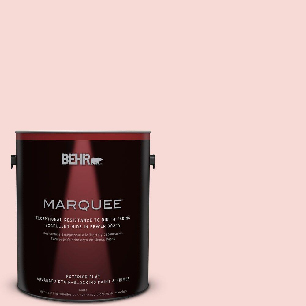 BEHR MARQUEE 1-gal. #M160-1 Cupcake Pink Flat Exterior Paint