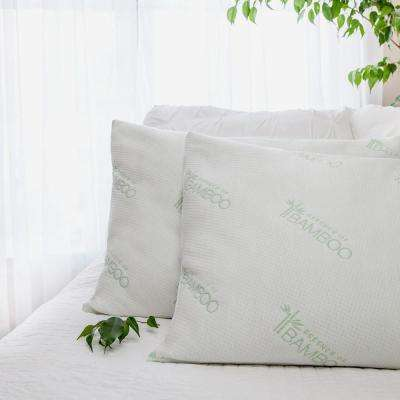 Essence of Bamboo Jumbo Bed Pillow (2-Pack)