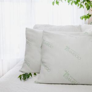 2 Pack Essence of Bamboo Jumbo Bed Pillow Deals