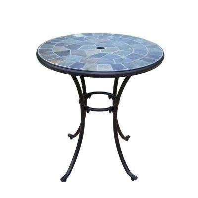 Coffee Metal Outdoor Bistro Table