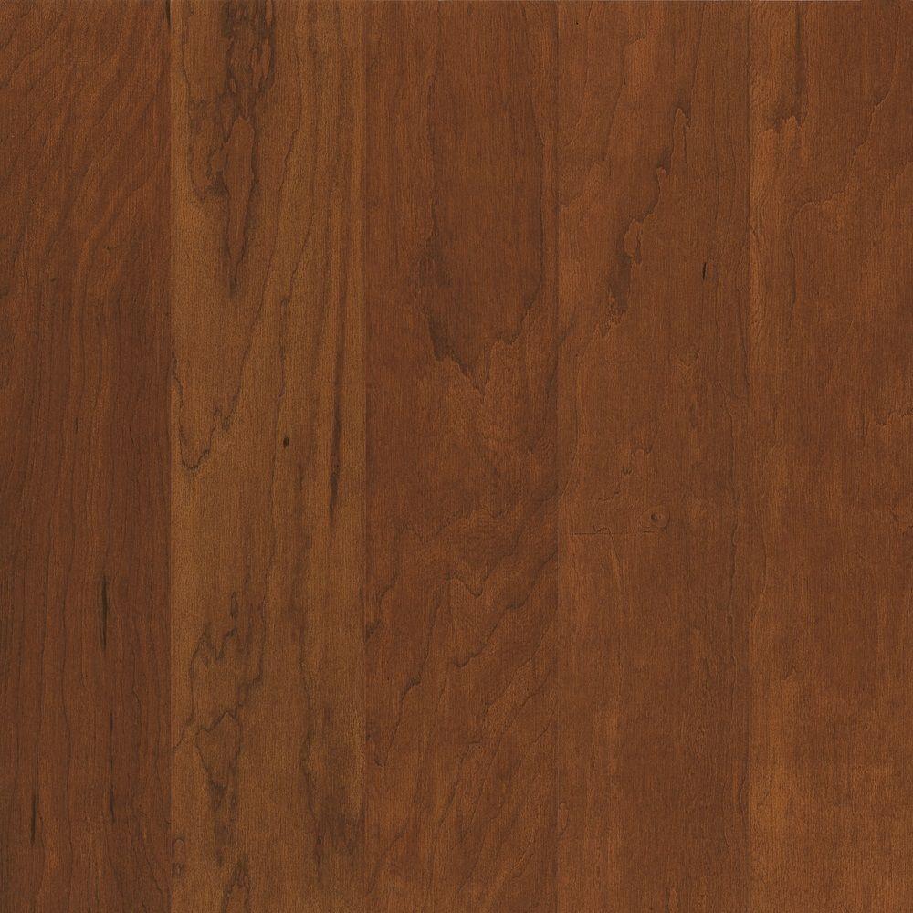 Bruce Cherry Light Bronze Performance Hardwood Flooring - 5 in. x 7 in. Take Home Sample