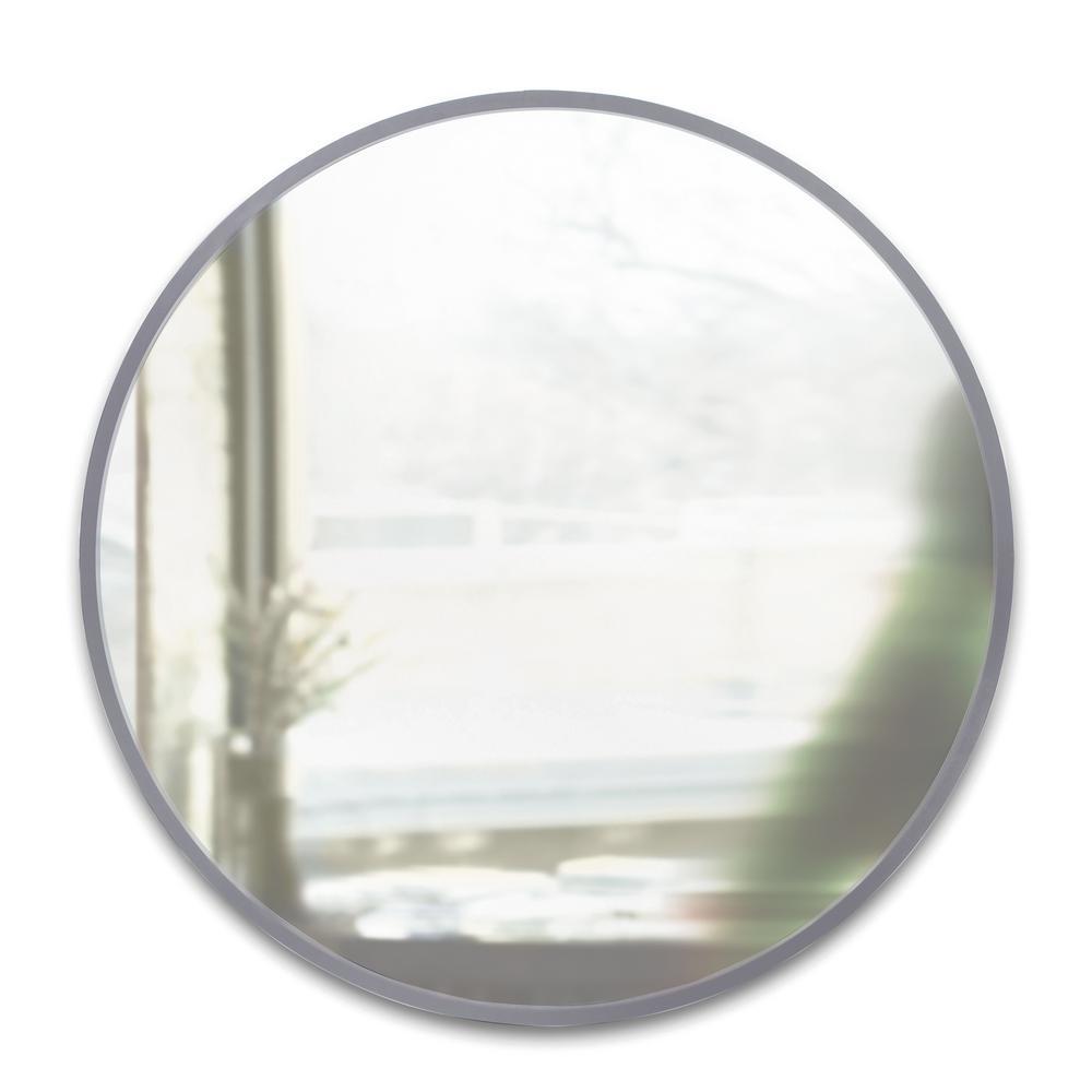 Hub Wall Mirror 37 Grey