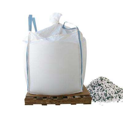 1000 lb. Skidded Supersack of Calcium Chloride pellets with Traction Granules