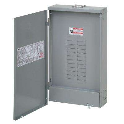 BR 200 Amp 20 Space 40 Circuit Outdoor Main Lug Loadcenter with Cover
