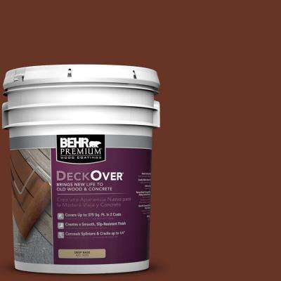 5 gal. #SC-118 Terra Cotta Wood and Concrete Coating