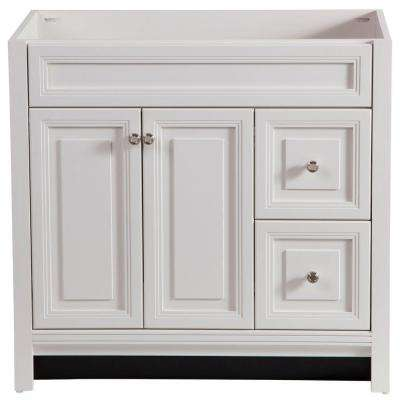 Brinkhill 36 in. W x 34 in. H x 22 in. D Bath Vanity Cabinet Only in Cream
