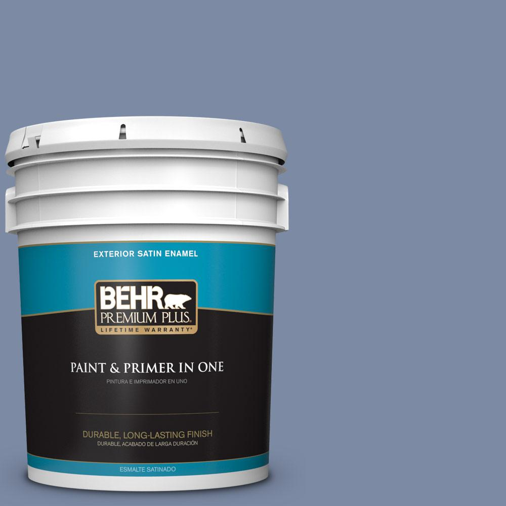 5 gal. #PPU15-09 Hilo Bay Satin Enamel Exterior Paint