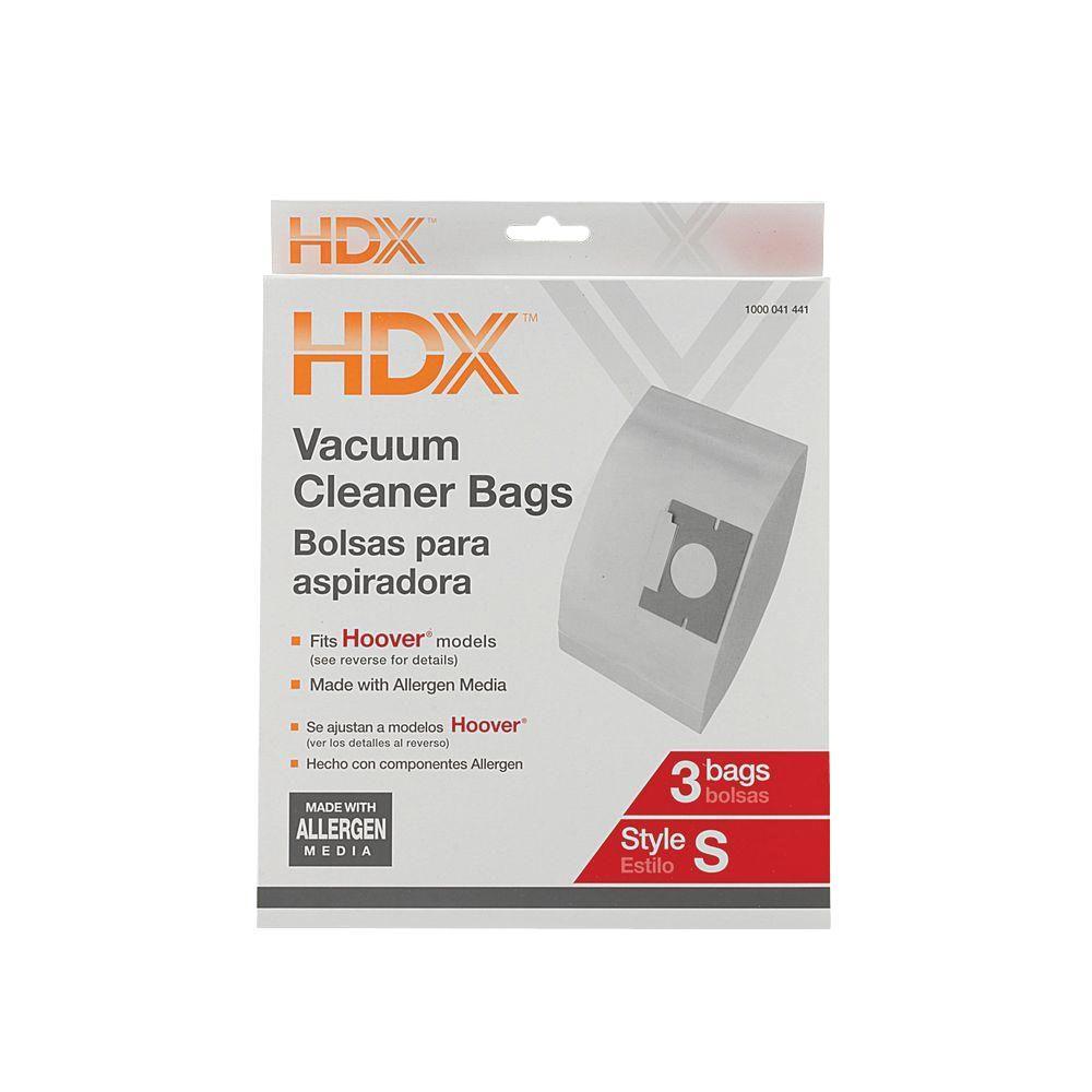 HDX Hoover Type S Allergen Bag