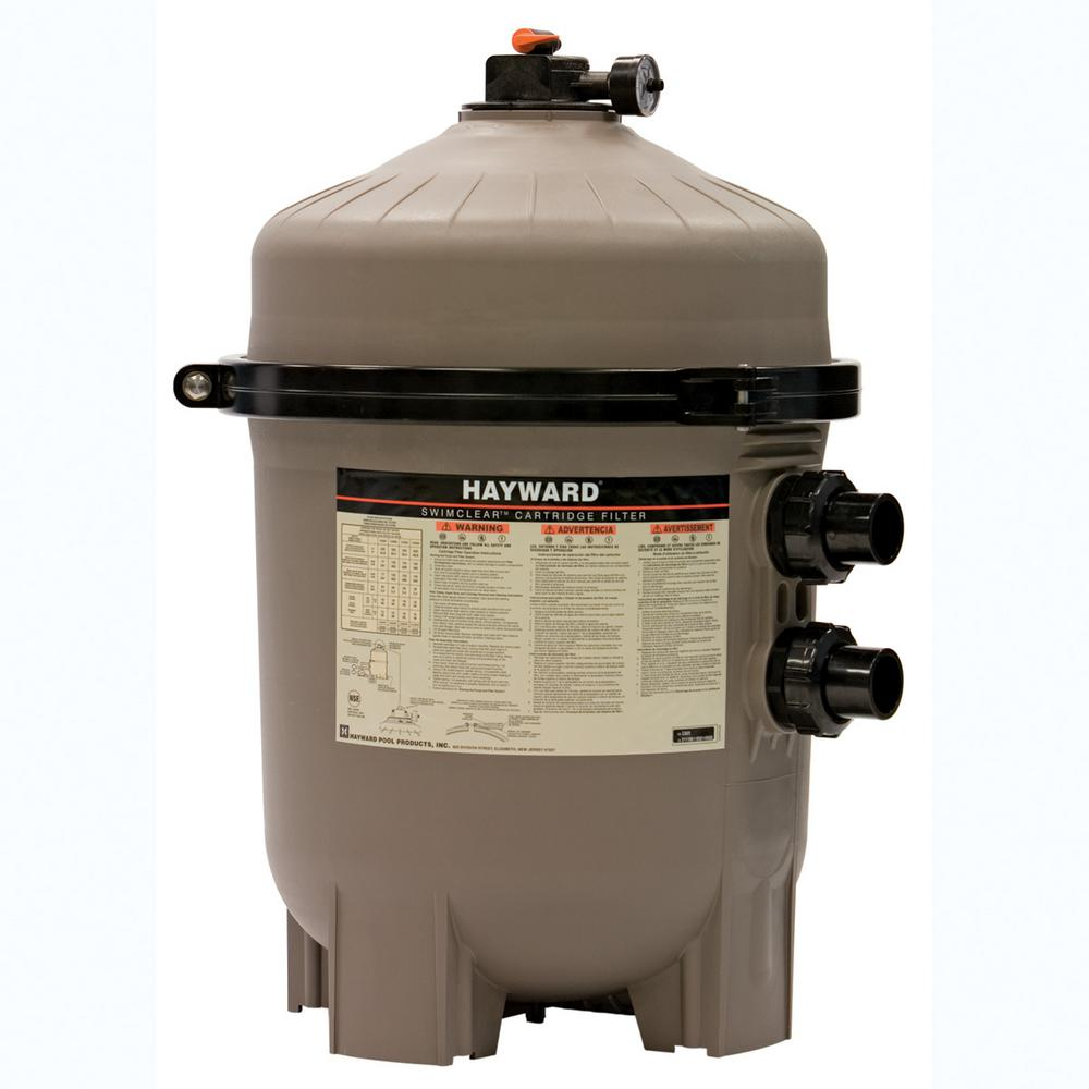 Hayward SwimClear 325 sq. ft. Cartridge Pool Filter