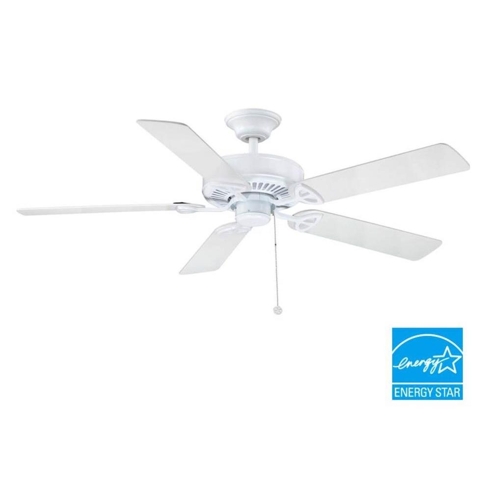 Farmington 52 in. Indoor White Ceiling Fan