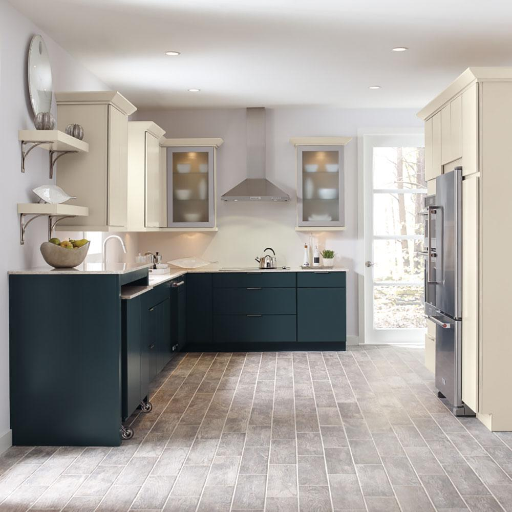 Thomasville Classic Custom Kitchen Cabinets Shown In Modern Style